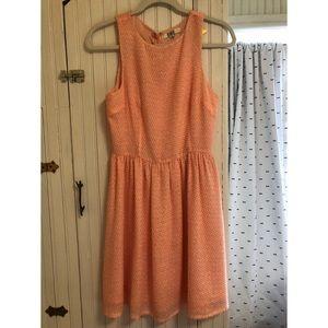 Textured Fit and Flare Bb Dakota Dress